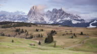 Alpe Di Siusi (Seiser Alm), Dolomites, Italy.