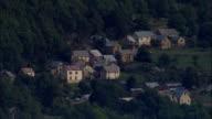 Alpes Maritimes And Village Of Braux  - Aerial View - Provence-Alpes-Côte d'Azur, Alpes-de-Haute-Provence, Arrondissement de Castellane, France