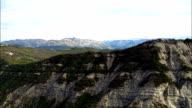 Alpes Maritimes Near Ubraye  - Aerial View - Provence-Alpes-Côte d'Azur, Alpes-de-Haute-Provence, France