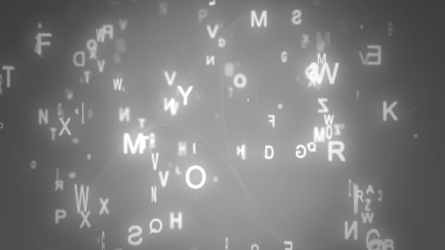 Sfondo di alfabeto