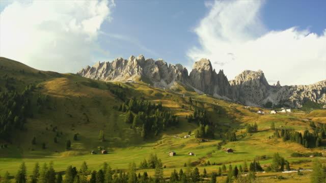 Alpine Mountain Landscape Panning