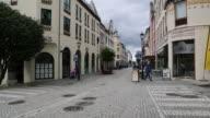 Alseund, view of Konges street