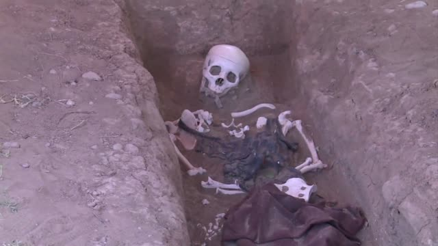 Although Iraq may want to put the legacy of Saddam Hussein behind it the excavation of mass graves containing at least half a million unidentified...