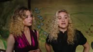 INTERVIEW Aly Michalka AJ Michalka on what brings them out why they're excited to see the collection at Wolk Morais Collection 5 Fashion Show in Los...