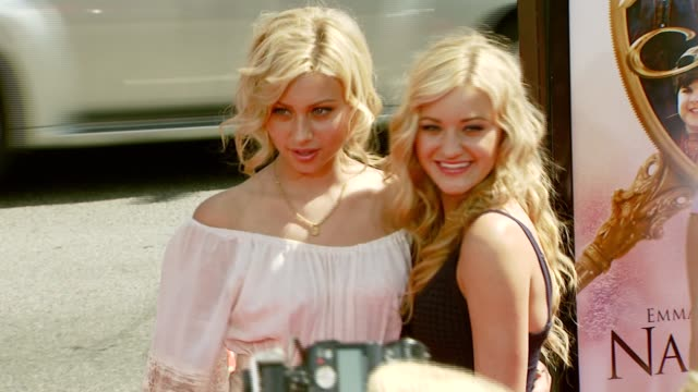 Aly Michalka and AJ Michalka at the 'Nancy Drew' Premiere at Grauman's Chinese Theatre in Hollywood California on June 10 2007