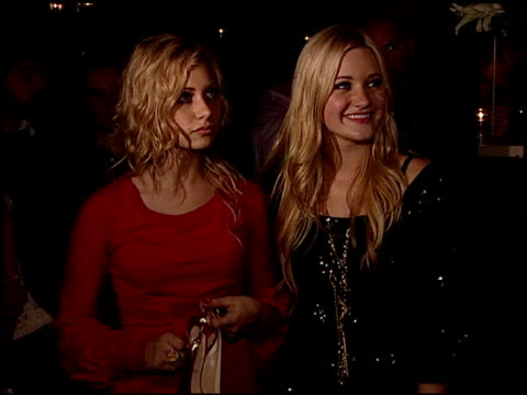 Aly Michalka and AJ Michalka at the Sisters Aly AJ Celebrate Their Birthdays with at Les Deux in Hollywood California on May 14 2007