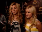 Aly Michalka and AJ Michalka on their entrance on motorcycles celebrating their birthdays tonite how they feel about turning 18 and 16 what they're...