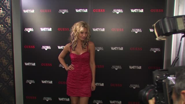 Aly Michalka at the Guess Vanity Fair TShirt Launch Event To Benefit Invisible Children at Beverly Hills CA