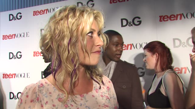 Aly Michalka on being a part of the night what she appreciates about Teen Vogue at the 7th Annual Teen Vogue Young Hollywood Party at Hollywood CA