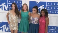 Aly Raisman Madison Kocian Laurie Hernandez and Simone Biles at 2016 MTV Video Music Awards Arrivals at Madison Square Garden on August 28 2016 in...
