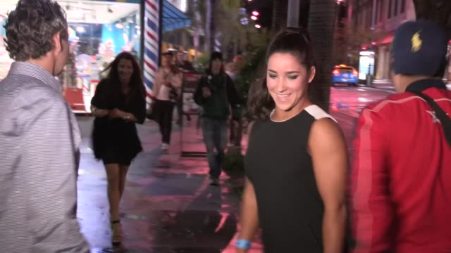 Aly Raisman on Trophy Safe Keeping while taking leave of Dwts 2013 Party in LA at Celebrity Sightings in Los Angeles Aly Raisman on Trophy Safe...