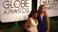 Aly Raisman Simone Biles and Madison Kocian at the 74th Annual Golden Globe Awards Arrivals at The Beverly Hilton Hotel on January 08 2017 in Beverly...