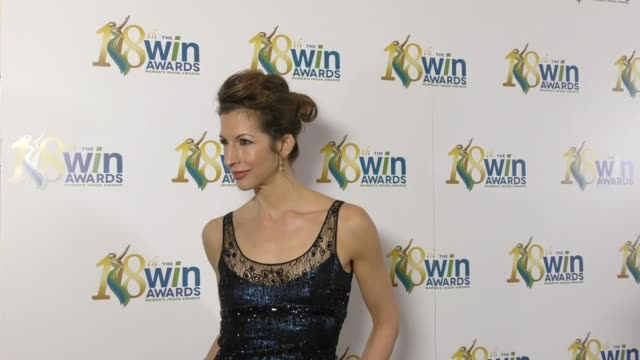 Alysia Reiner at The 18th Annual Women's Image Awards at Skirball Cultural Center on February 17 2017 in Los Angeles California