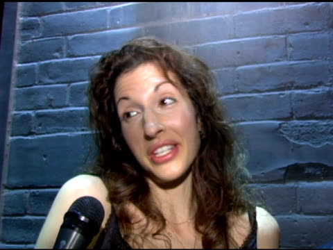 Alysia Reiner on her role as the Armenian bride in 'Sideways' her new play role getting wacked by Jonny Sack in her latest gig on the Sopranos...