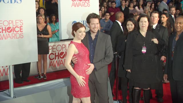 Alyson Hannigan Alexis Denisof at 2012 People's Choice Awards Arrivals on 1/11/12 in Los Angeles CA