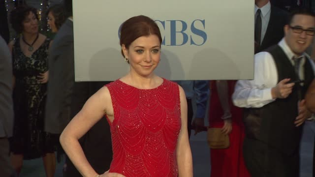 Alyson Hannigan at 2012 People's Choice Awards Arrivals on 1/11/12 in Los Angeles CA