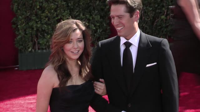 Alyson Hannigan at the 61st Annual Primetime Emmy Awards Arrivals Part 3 at Los Angeles CA