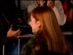 Alyson Hannigan at the 'Alien Resurrection' Premiere on November 20 1997