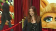 Alyson Hannigan at the The World Premiere of Walt Disney's 'The Muppets' at Hollywood CA