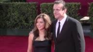 Alyson Hannigan Jason Segel at the 61st Annual Primetime Emmy Awards Arrivals Part 3 at Los Angeles CA