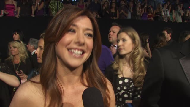 Alyson Hannigan on being nominated for a People's Choice Award for How I Met Your Mother at the 36th Annual People's Choice Awards at Los Angeles CA