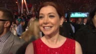 Alyson Hannigan on her dress on being nominated for a People's Choice Award on the longevity of How I Met Your Mother and on what's coming up on the...