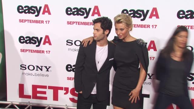 Alyson Michalka Amanda Michalka at the 'Easy A' Premiere at Los Angeles CA