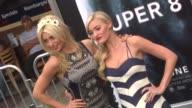 Alyson Michalka Amanda Michalka at the 'Super 8' Premiere at Westwood CA
