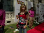 Alyson Michalka at the Disney's Toontown Online Takes Hollywood at the Hollywood Athletic Club in Hollywood California on August 21 2004