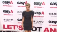 Alyson Michalka at the 'Easy A' Premiere at Los Angeles CA