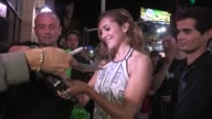Alyson Stoner greets fans at the Step Up Revolution After Party in Hollywood 07/17/12