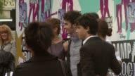 Alyson Stoner Jonas Brothers Demi Lovato at the Camp Rock European Premiere at London