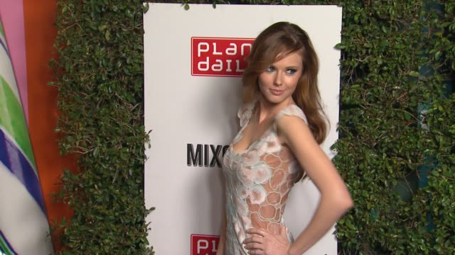 Alyssa Campanella at Planet Dailies Mixology 101 Grand Opening on 4/5/12 in Los Angeles CA