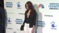 Alyssa Campanella at The 2nd Annual American Giving Awards Presented By Chase on in Pasadena CA