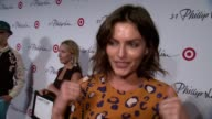 INTERVIEW Alyssa Miller says she loves Phillip's work and Target on what she is wearing at 31 Phillip Lim For Target Launch Event on September 05...