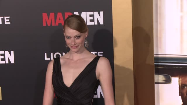Alyssa Sutherland at AMC Celebrates The Final Season of 'Mad Men' With Black Red Ball at Dorothy Chandler Pavilion on March 25 2015 in Los Angeles...