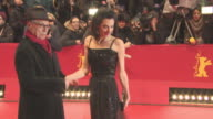 Amal Clooney at 'Hail Caesar' Opening Ceremony Red Carpet 66th Berlin International Film Festival at Grand Hyatt Hotel on February 11 2016 in Berlin...