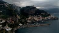 Amalfi  - Aerial View - Campania, Provincia di Salerno, Italy