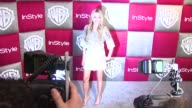 Amanda Bynes at the InStyle 2009 Golden Globes After Party Part 2 at Los Angeles CA