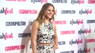 Amanda Byram Alexandra Burke at Cosmopolitan FashFest Fashion Show and Awards on September 18 2014 in London England