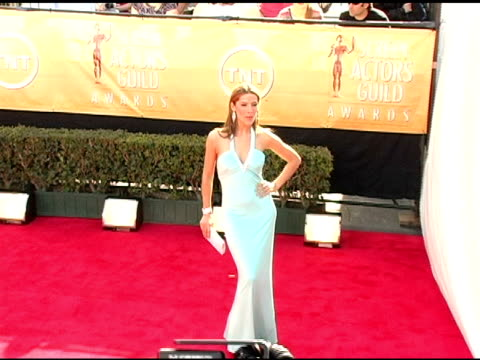 Amanda Byram at the 2005 Screen Actors Guild SAG Awards Arrivals at the Shrine Auditorium in Los Angeles California on February 5 2005