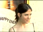 Amanda Foreman at the 'Happy Endings' Los Angeles Premiere at the Mann National Theatre in Westwood California on June 26 2005