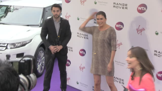 Amanda Lamb at the WTA PreWimbledon Party at London England