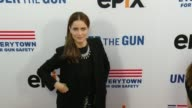 Amanda Peet at the 'Under The Gun' Los Angeles Premiere at Samuel Goldwyn Theater on May 03 2016 in Beverly Hills California
