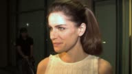 Amanda Peet on coming back to television and Aaron Sorkin not knowing how to write a clich� at the The Academy of Television Arts and Sciences...