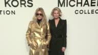 Amanda Peet Patti Hansen and Alexandra Richards Erin Wasson and more at the Michael Kors Ready To Wear fall winter 2017 fashion show in New York City...