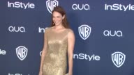 Amanda Righetti at 2014 InStyle And Warner Bros 71st Annual Golden Globe Awards PostParty at The Beverly Hilton Hotel on in Beverly Hills California
