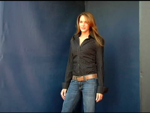 Amanda Righetti at the 2005 Teen Choice Awards Exclusive onsite Portrait Studio at the Universal Amphitheatre in Universal City California on August...
