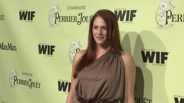 Amanda Righetti at the 2nd Annual Women in Film PreOscar Cocktail Party at Los Angeles CA