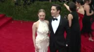 Amanda Seyfried and Justin Long at 'China Through The Looking Glass' Costume Institute Benefit Gala Arrivals at Metropolitan Museum of Art on May 04...